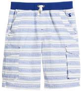 Joules Bob Multi-Stripe Cargo Shorts, Size 3-6
