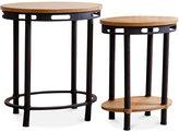 Kas Kaston Set of 2 End Tables, Quick Ship