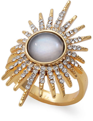 Lulu Frost Rising Sun Ring