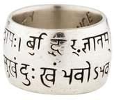 Me & Ro Me&Ro Wide Sanskrit Ring