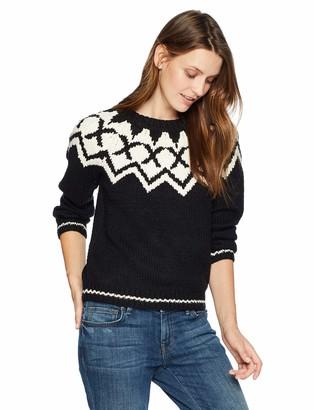 Velvet by Graham & Spencer Women's Robyn Fair Isle Sweater