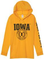 PINK University Of Iowa Campus Hoodie Tee
