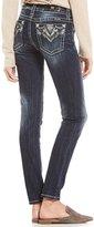 Miss Me Bling Pocket Skinny Jeans