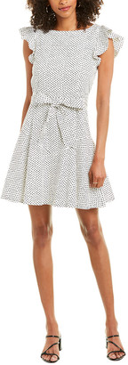 La Vie Rebecca Taylor Corrine A-Line Dress