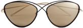 Prism Women's Brooklyn Sunglasses Black/Rose Gold