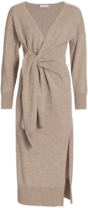 Jonathan Simkhai Skyla Loungewear Knit Wrap Dress