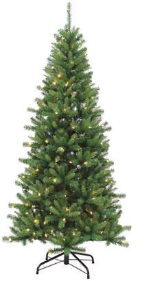 Sterling Tree Company 7Ft. Pre-Lit Ozark Pine W/ 230 Dual Color Changing Led Lights