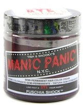 Manic Panic Fuschia Shock Cream Formula Semi-Permanent Hair Color, 4 oz