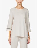 Thumbnail for your product : Hanro Natural Comfort woven pyjama set