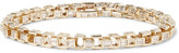 Luis Morais Gold Diamond Link Bracelet - Gold