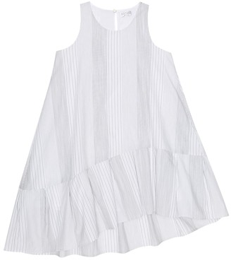 BRUNELLO CUCINELLI KIDS Exclusive to Mytheresa a Striped cotton dress
