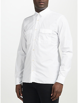 J. Lindeberg Daniel Dyed Cotton Shirt, White