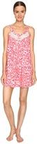 Oscar de la Renta Printed Pima Cotton Chemise Women's Pajama