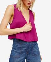 Free People Baring It Cropped Top