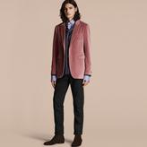 Burberry Tailored Velvet Jacket