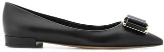 Salvatore Ferragamo Applique Ballerina Shoes