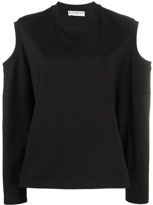 Givenchy Cut-Out Detailed Blouse