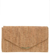 ASOS Cork Envelope Clutch With Detachable Shoulder Strap