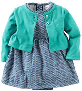 Carter's 2-Piece Dress & Cardigan Set