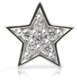 Stevie Wren 14k Diamond Star Charm
