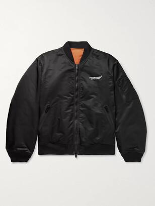 Undercover Reversible Printed Nylon Bomber Jacket