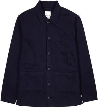 Wood Wood Fabien navy cotton-blend jacket