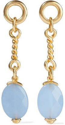 Ben-Amun 24-karat Gold-plated Bead Earrings