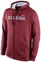 Nike Men's Oklahoma Sooners Warp KO Full-Zip Hoodie