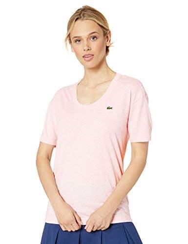 edde386b4b Women's Half Sleeve Scoop Neck Tennis Performance Jersey TEE Shirt