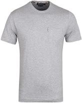 Aquascutum Grey Marl Brady Crew Neck T-shirt
