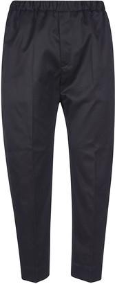 Jil Sander Ribbed Waist Trousers
