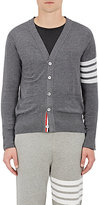 Thom Browne Men's Block-Striped Wool Cardigan