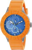 Marc Jacobs Marc by Men's MBM5545 Analog Display Analog Quartz Orange Watch