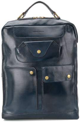Officine Creative Retro multi-pocket backpack
