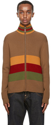 Wales Bonner Multicolor Lovers Rock Zip-Up Sweater