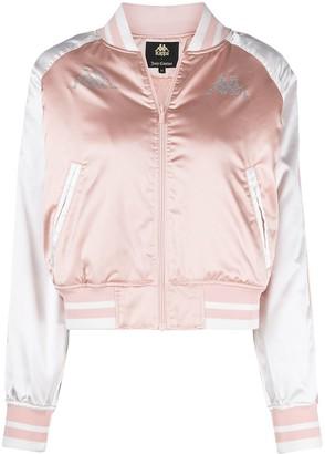 Kappa x Juicy Couture crystal-embellished bomber jacket