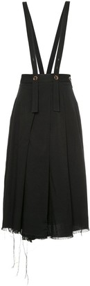 Song For The Mute Suspender Pleated Skirt