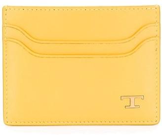Tod's Monogram Plaque Cardholder