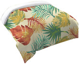 Laural Home Tropical Havana Palm Leaves Duvet Cover, King