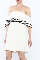 Do & Be White Shift Dress