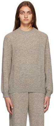 MAX MARA LEISURE Grey Wool Ampex Sweater