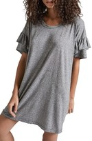 Current/Elliott Women's Ruffle Roadie T-Shirt Dress