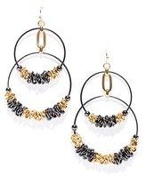 New York & Co. Coil Rings Double-Hoop Earrings