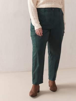 Woven Cargo Pants - Addition Elle