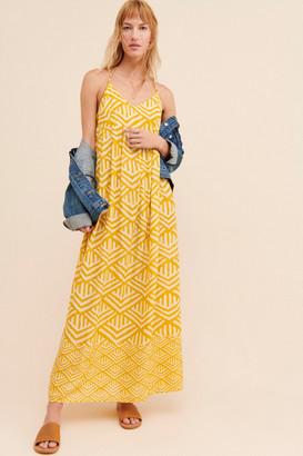 Anthropologie Shawna Maxi Dress