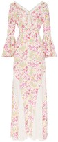 By Ti Mo Bytimo floral lace-panel maxi dress