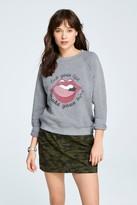 Rebecca Minkoff Classic Crewneck Sweatshirt Lips And Hips