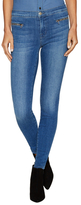J Brand Emma Denim Zip Skinny Jeans
