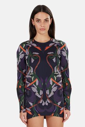 3.1 Phillip Lim Printed Raglan Dress