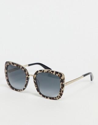 Kate Spade kimora animal print sunglasses